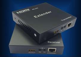 Extensor Extender HDMI hasta 120 mts cable Utp cat 6