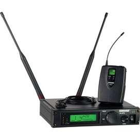 Micrófono Shure ULXP14/150/O-J1 Music Box Colombia Inalámbrico solapa mini