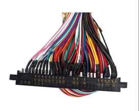 Cable De Cableado Multicade Arcade Videojuego Pcb 36+10 Pins
