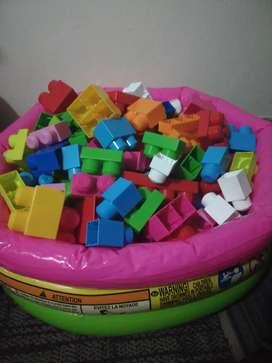 Mega Bloks de legos
