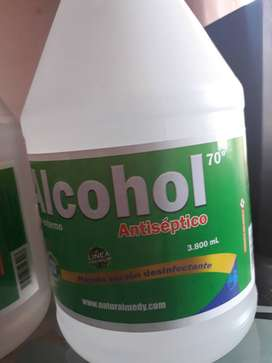 Alcohol  anticeptico al 70 %