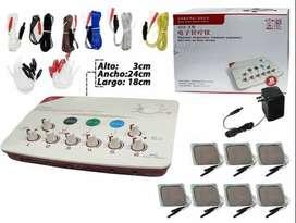 equipo de estimulación electrodos,electroacumputura, terapia digital, rehabilitación,dolor muscular