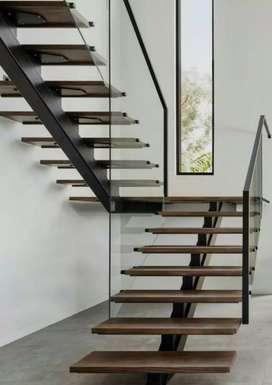 Escaleras modernas de interior