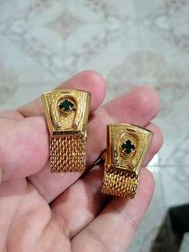 Mancornas Antiguas Enchapadas en Oro con Patente