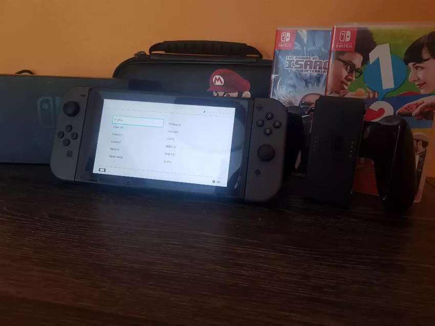 Oportunidad Vendo Nintendo Switch sin uso 0