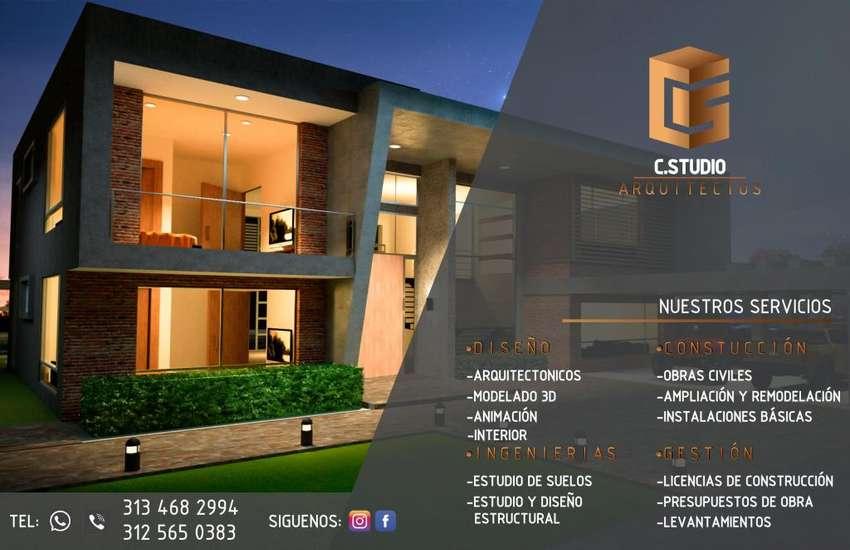 Servicios de diseño, construcción, remodelacion, licencias, levantamientos,3d, ingenierias 0
