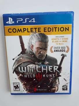The Witcher 3 Wild Hunt Complete Edition juego PS4 Nuevo y Sellado