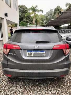 Honda hrv gris oscuro