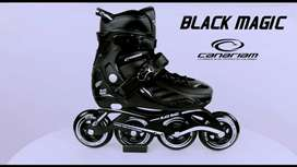 Patines Canariam Black Magic + protección