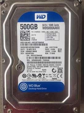 DISCO DUROS SATA 500 GB