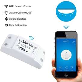 Sonoff interruptor, temporizador Wifi Domótica