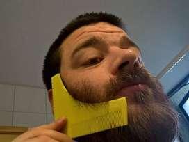peine delineador de barba