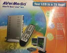 Vendo Sintonizador de TV con control