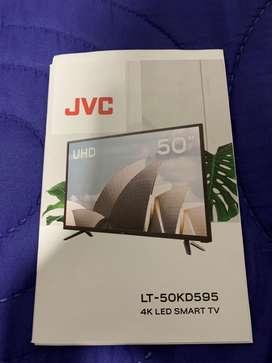 Televisor JVC 50 pulgadas uhd 4K LED