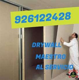 Instalación drywall remodelación
