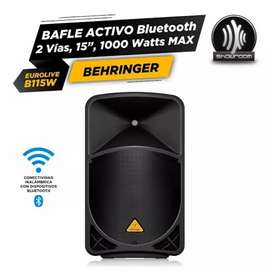Behringer de b115 W Powered altavoz PA. Cool tecnología Bluetooth