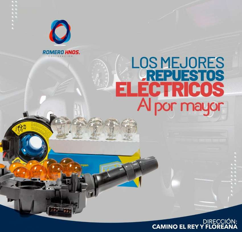 REPUESTOS ELECTRICOS DE AUTO AL POR MAYOR Y MENOR - ROMERO HNOS IMPORTADORES DIRECTOS 0