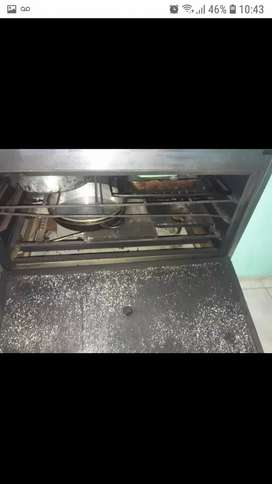 vendo cocina industrial usada