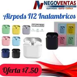 AUDIFONOS i12