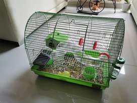 2 Hamster's con sus Jaulas
