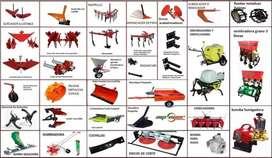 ACCESORIOS / APEROS PARA MOTOCULTOR MOTOAZADA Y TRACTOR