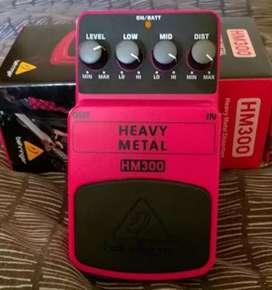 Pedal de guitarra heavy metal