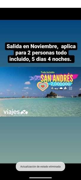 Viaje San Andrés providencia