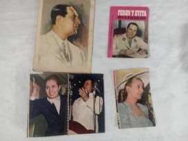 Troquelado Evita y Peron