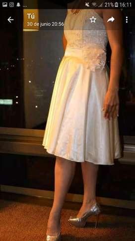 Vestido de Novia Y Zapatos
