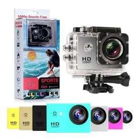 Camara GO PRO FULL HD SPORTS CAM 1080 IMPERMEABLE 1080