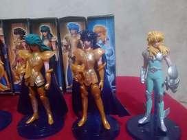 Figuras de Caballeros del zodiaco