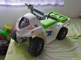Moto electrica Toy Story