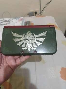 New nintendo 3ds con carcasa de Zelda