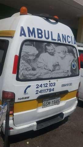Vendo Ambulancia año 2012