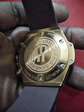 Vendo reloj marca Hublot automático en acero