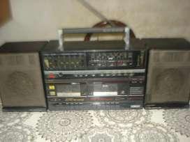 Radiograbador Vintage Noblex Pd 80 Exc Sonido No Envio segunda mano  La Paternal, Capital Federal