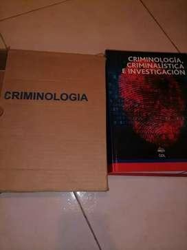 Libro de criminologia y criminalistica