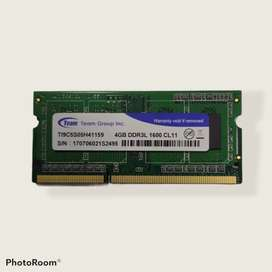 MEMORIA RAM 4GB DDR3L