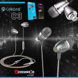 Auriculares C3 Celebrat ‼️‼️ Originales