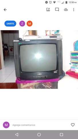 Tv Samsung y dvd Pioneer
