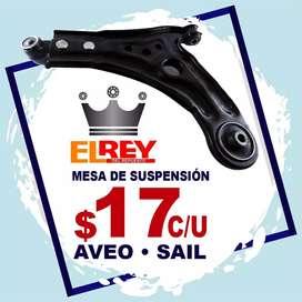 REPUESTOS CHEVROLET, PLATOS DE SUSPENSION AVEO, SPARK, CRUZE, TRACKER ORIGINAL