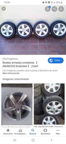 1 rueda completa,