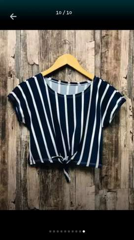 Hermosas blusas crop top