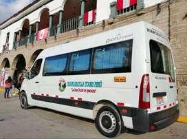 Alquiler de Transporte Turístico