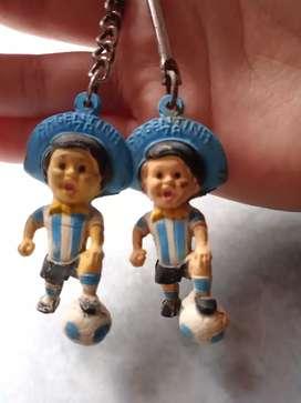 Llaveros de colección argentina del mundial 78