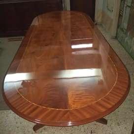 Mesa con doble.sheratton