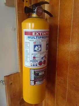 Extintor, Botiquin