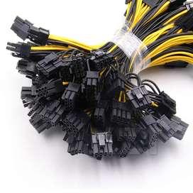 Cable Multiplicador Pci Express De 6 U 8 Pin A 2 X 62