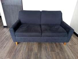 Sofa dos puestos marca muebles y accesorios