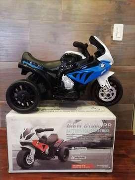 MOTOS ELECTRICAS MARCA BMW ORIGINAL AZUL S1000 RR
